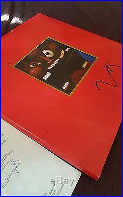 KANYE WEST SIGNED MY BEAUTIFUL DARK TWISTED FANTASY ALBUM VINYL LP COA withJSA