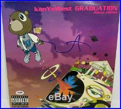 Kanye West Signed Autographed Graduation Vinyl Album Lp Record Psa/dna