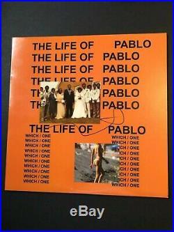 Kanye West Signed The Life Of Pablo Vinyl Album Lp Autograph Coa Jesus Is King