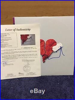 Kanye West Yeezy Rap Signed Auto 808s & Heartbreak Vinyl Album JSA Letter COA