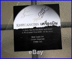Khruangbin First Album 7 Color Vinyl (Autographed) Super Rare