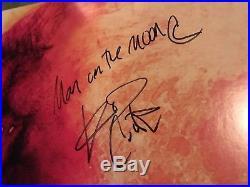 Kid Cudi Signed Autographed Vinyl Album Lp Man On The Moon