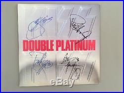 Kiss Double Platinum Original 4 Signed Vinyl Record Album Lp Stanley Simmons Coa