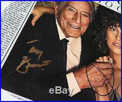 LADY GAGA & TONY BENNETT Signed Autograph Cheek To Cheek Album Vinyl Record LP