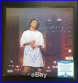 LIL WAYNE SIGNED AUTOGRAPHED THE CARTER II ALBUM VINYL LP withCOA BECKETT C36063