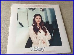 Lana Del Rey Lust For Life Limited Coke Bottle Clear Vinyl Signed Lithograph