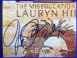 Lauryn Hill Signed Autographed Miseducation of Lauryn Hill Vinyl Record Album