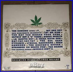 Leaf Vault Dr. Dre Autograph The Chronic Signed Vinyl Album Cover LOA
