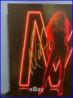 Mariah Carey signed Caution LIMITED EDITION 12 LP album PINK VINYL