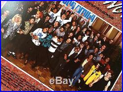 Michael Jackson HAND SIGNED Autograph WE ARE THE WORLD Record LP Vinyl Album 80s