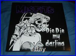 Misfits Glenn Danzig Signed Die Die My Darling Vinyl Album