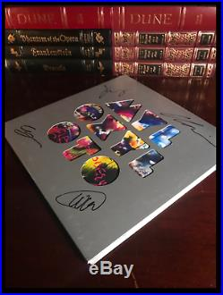 Mylo Xyloto SIGNED by ALL COLDPLAY CHRIS MARTIN GUY WILL JONNY Vinyl LP Album