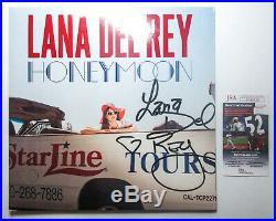 NEW Lana Del Rey SIGNED Honeymoon Vinyl Album LP EXACT Proof JSA COA