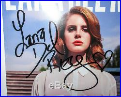 NEW Lana Del Rey Signed BORN TO DIE Vinyl Album EXACT Proof JSA COA