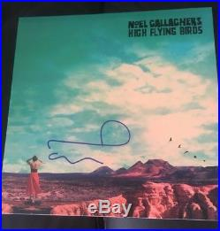 Noel Gallagher SIGNED High Flying Birds LP Vinyl Album Oasis PROOF