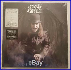 Ozzy Osbourne Ordinary Man Silver Smoke Vinyl LP with Autographed Album Flat #2