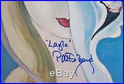 PATTIE BOYD Signed Autograph Layla Album Vinyl Record LP Eric Clapton Related