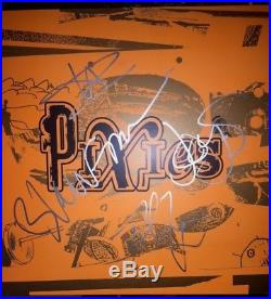 PIXIES Indie Cindy Complete Band Signed Vinyl Record Album +4 BLACK FRANCIS