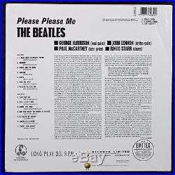 Paul McCartney Beatles Signed Please Please Me Album Cover With Vinyl PSA #Q02565