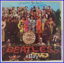 Paul McCartney THE BEATLES Signed Autograph Sgt  Pepper's