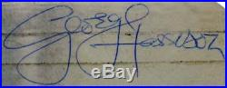 Paul Mccartney & George Harrison Signed Album Cover With Vinyl PSA/DNA #Q04998
