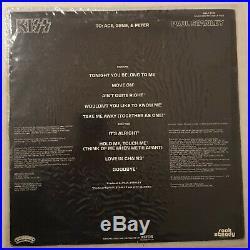 Paul Stanley Solo Album Vinyl LP HAND SIGNED CASABLANCA / AUCOIN 1978 KISS