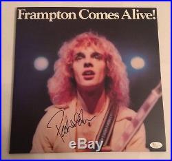 Peter Frampton Signed Frampton Comes Alive Album Vinyl JSA #N11432 Auto