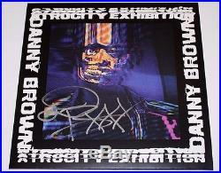 RAPPER DANNY BROWN SIGNED'ATROCITY EXHIBITION' VINYL RECORD ALBUM LP withCOA