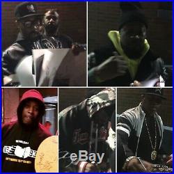 RARE! Wu Tang Signed Enter The Wu Tang 36 Chambers Vinyl Method Man GZA PROOF