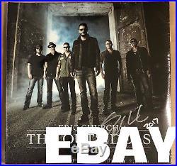 RARE set Eric Church hand signed 5 studio albums from 2017 (#d of 50) VINYL LP