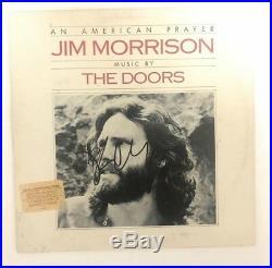 ROBBY KRIEGER signed vinyl album AN AMERICAN PRAYER THE DOORS PROOF 1