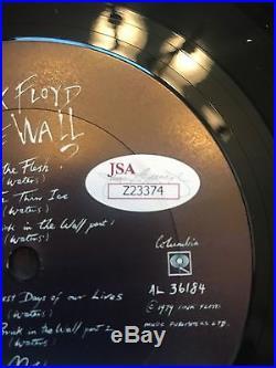 ROGER WATERS Autograph 1979 Pink Floyd The Wall Original Vinyl Album JSA Signed