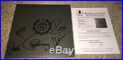 Rammstein Full Band Signed Raritaten Album Vinyl Germany Till Lindemann +5 Bas