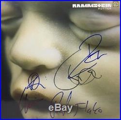 Rammstein Signed Autographed Mutter Vinyl Album Till Lindemann Richard ++ Coa