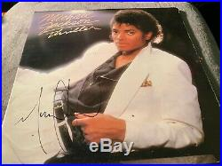 Rare Michael Jackson Signed THRILLER Album Vinyl