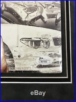 Rick Ross Port Of Miami Signed Auto Rare Lp Vinyl Record Album Framed Jsa Coa