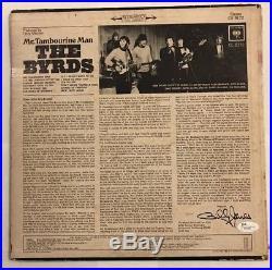 Roger McGuinn Signed The Byrds Mr. Tambourine Man Album Vinyl LP JSA # T76483
