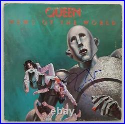Roger Taylor Signed Queen News Of The World Vinyl Record LP Album LEGEND RAD