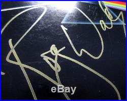 Roger Waters Signed Pink Floyd Dark Side Of The Moon Vinyl Album EXACT PROOF JSA