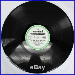 Roy Orbison Authentic Signed Greatest Hits Album Cover With Vinyl BAS #A79404