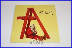 SINGER BILLIE EILISH SIGNED DON'T SMILE AT ME VINYL ALBUM RECORD LP withCOA PROOF