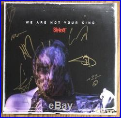 SLIPKNOT BAND SIGNED We Are Not Your Kind Vinyl Record Album NEW 2LP 9 MEMBERS