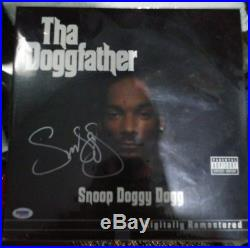 SNOOP DOGG SIGNED AUTOGRAPHED THA DOGGFATHER ALBUM VINYL LP DR  DRE