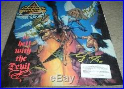 STRYPER signed/autographed TO HELL WITH THE DEVIL banned cover album vinyl