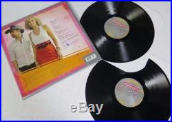 SUGARLAND Signed Autograph Love On The Inside Album Vinyl Record LP by 2