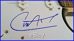 Santana Personally Signed Guitar & Vinyl Album