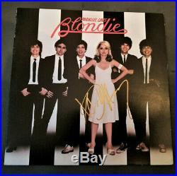 Signed Autographed Blondie Parallel Lines Vinyl Album Lp Debbie Harry