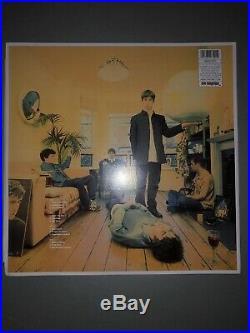 Signed Noel & Liam Gallagher Oasis Definitely Maybe Vinyl Album