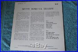 Sister Rosetta Tharpe Signed Autographed Album Vinyl Washington D. C. 1968