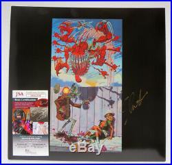 Slash Signed Album Lp Vinyl 12 Guns N Roses Appetite For Destruction Jsa